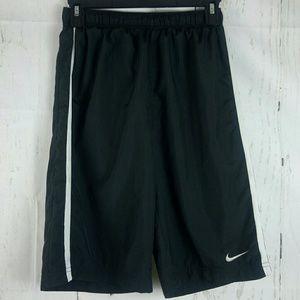 Nike Dri Fit Black White Shorts Size L